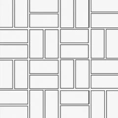Basketweave - Brick Pattern