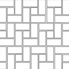 Pinwheel - Brick Pattern