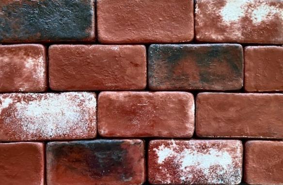 Sadie's Vineyard brick color, 4 X 8 brick size